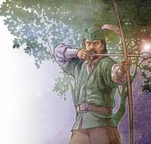 Hector-Gomez-ilustração-photoshop-Editora-Abril-Revista-Aventura-na-História-painter-Robin-Hood-2006