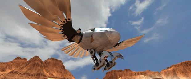 Metal-Bird-ilustração-3D