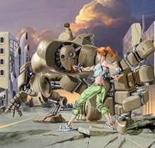 Hector-Gomez-ilustração-photoshop-painter-trabalhos-autorais-graphic-novel-Roboten-attack-2001