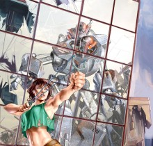 Hector-Gomez-ilustração-photoshop-painter-trabalhos-autorais-graphic-novel-robot-2001