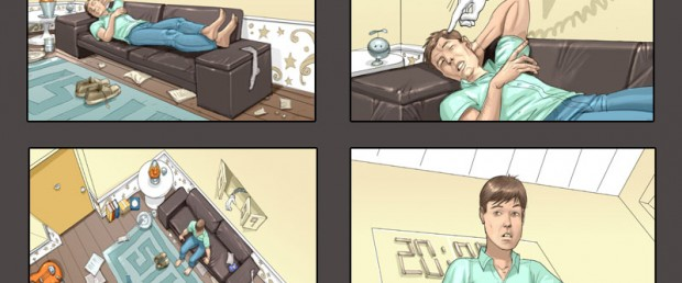 Storyboard Young & Rubicam Samsung 2010