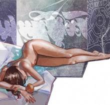 Hector-Gomez-trabalhos-autorais-photoshop-painter-coleção-própria-Desconsolo-2010