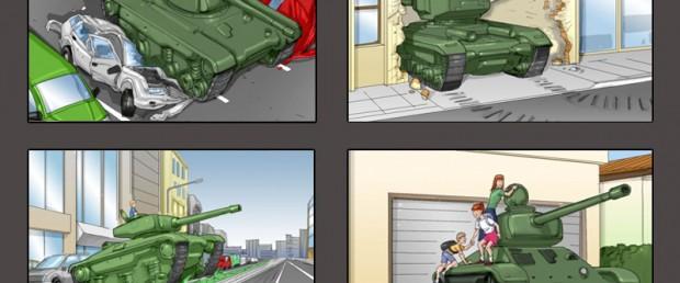 Storyboards Neogama Duster