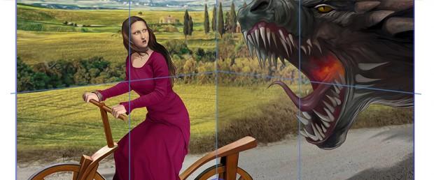 Gioconda e dragão (2)